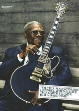 BB King - In His 80's - Full Size Magazine Advert