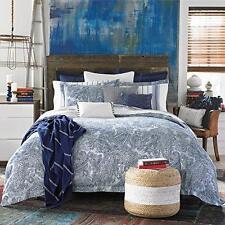 Tommy Hilfiger Canyon Paisley 3 pc Comforter Set King Indigo Bedding Shams NEW
