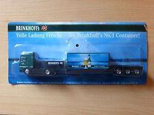 Modellino autocarro per birra Rimorchio trasporto MAN BRINKHOFFS No 1 MK 3
