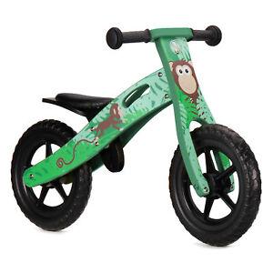 Nicko NIC855 Monkey Children's Kid's Wooden Balance Bike Bicycle 2 - 5 Years