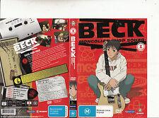 Beck:Mongolian Chop Squad:1-2004/5-TV Series Japan-5 Episodes-DVD