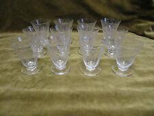 12 verres à porto cristal de baccarat michelangelo  (Baccarat wine glasses)