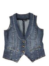A.N.A. Women's Denim Vest Size Small