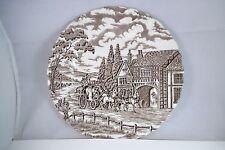 Vintage Staffordshire Myott Ironstone Royal Mail England Lunch Plate