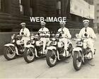 1947 HARLEY DAVIDSON MOTORCYCLE ZUHRAH SHRINERS MINNEAPOLIS MINNESOTA 8X10 PHOTO