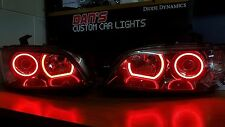 Ve commodore s2 SSV headlights with multicoloured halo rings