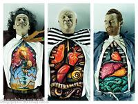 Set of x3 Prints- Salvador Dali, Picasso, Van gogh
