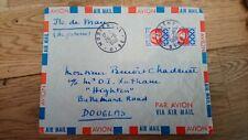 2 x Republique Francaise Postes Paris Coat Of Arms 0.30 Stamp 1965-69 Rare