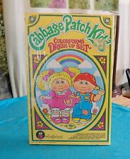 Vtg 1980's Cabbage Patch Kids doll colorforms dress up set #664..factory sealed