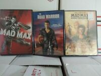 MAD MAX THE COMPLETE MEL GIBSON COLLECTION ALL 3 MOVIES MAD MAX NEW SEALED DVD