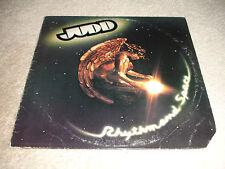 Judd - Rhythm And Space LP Record Album 1977 ASI Hard Rock