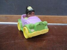 Fisher Price Little People Wheelies CAR Disney Tiana AA Princess girl purple