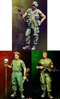 1/35 Resin US 3 Soldiers Infantrymen Vietnam War Unpainted Unbuild BL467