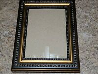 Photo Frame Bronze Toned Black Portrait 5x7 Rectangle