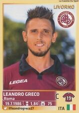 N°351 LEANDRO GRECO # AS.LIVORNO ITALIA CALCIATORI 2014 PANINI STICKER