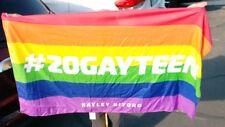 #20gayteen Hayley Kiyoko Rainbow Gay Pride Flag 🌈🌈🌈👬😊