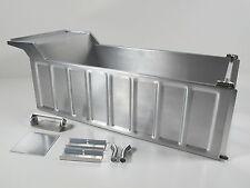 Aluminum Dump Bed Tub Conversion Kit Tamiya 1/14 RC Semi King Grand Hauler Truck