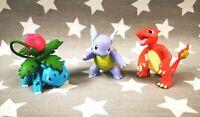 2015 Nintendo / Pokémon Tomy Figures Bundle Charmeleon Wartortle Ivysaur Joblot