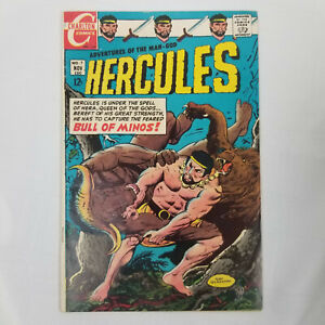 Hercules #7 (Charlton Comics, 1968) VG/FN A2