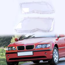Fit for BMW E46 4D 320i 330i 330xi 2002-2005 Headlight Headlamp Lens Shell Cover