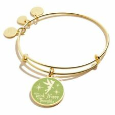Alex and Ani - Disney® Tinker Bell Think Happy Thoughts Bracelet - Shiny Gold