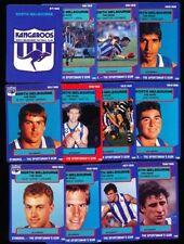 Kangaroos Team Set AFL & Australian Rules Football Trading Cards