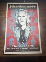 Shepard Fairey Obey Giant John Densmore: The Seekers Art Print Poster XX/1000