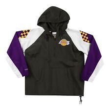 Los Angeles Lakers Mitchell & Ness NBA Half-Zip Anorak Jacket - Black/Purple