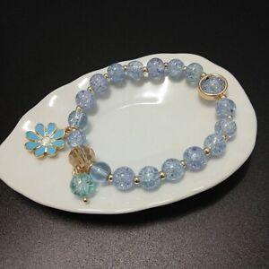 Bracelet Girls Kids Children XMAS Gift Lovely Daisy Jewellery Crystal Charm