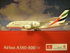 Herpa Wings 1 200 Airbus A380 Emirats arabes Emirates RealMadrid A6-eug 559508