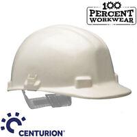 Centurion Vulcan White Fibreglass Safety Work Helmet Hard Hat High Radiant Heat