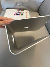 Rain Design mStand Laptop Stand, Silver (10032) Aluminum, cable pass-through