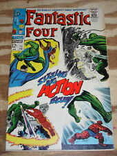 Fantastic Four #71 very fine with 2 letter pages clipped and tape on the binding