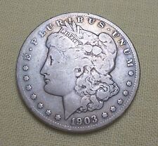 1903-S Morgan Silver Dollar Key Date Only 1,241,000 Minted