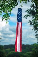 "NEW American Flag 60"" long Windsock   Show United States Patriotic Support"