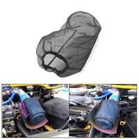 Motorcycle Air Filter Mask Oilproof Protective Cover Dustproof Waterproof Black