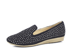 Country Jack Asa Loafer with Stud Detail- Black RRP£32 UK4 JS22 81