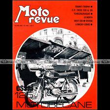 MOTO REVUE N°1985 TOURIST TROPHY, MOTOBECANE DC 125, MALANCA, MAGNY-COURS 1970