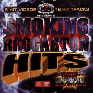 Smoking Reggaeton Hits [CD+DVD] by Various Artists (CD, Aug-2005, Loudes 68)