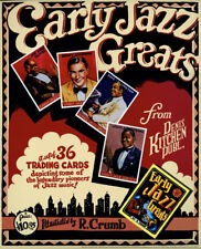 R. Crumb's Early Jazz Greats Illustrated Promo Poster
