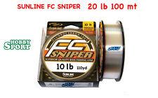 FILO SNIPER FC FLUOROCARBON SUNLINE 10 LB  0,26  MT 150
