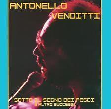 ANTONELLO VENDITTI SOTTO IL SEGNO DEI PESCI - CD ORIGINALE 5582412