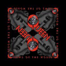 Queen Official News of The World Black Bandana Rock Band Music Kerchief