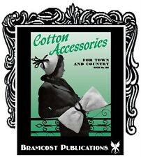 1940s Cotton Accessories Knitting / Crochet Patterns (Hats Bags Vintage Fashion)