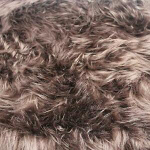 "60"" Wide 1-2'' Long Pile Luxury Shag Fur by Half Yard - Style 5002"