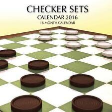 Checker Sets Calendar 2016: 16 Month Calendar by Jack Smith (2015, Paperback)