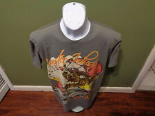 MONSTER INDUSTRIES MSF HOT ROD SKULL T SHIRT SIZE ADULT LARGE