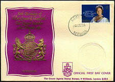 Bermuda 1980 Queen Mothers 80th Birthday FDC First Day Cover #C41292