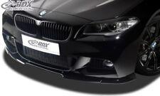 RDX Spoilerlippe für 5er M5 BMW F10 F11 Touring M-Tech Front Ansatz Schwert