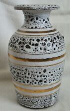 mid century modern pottery vase made in Italy
